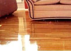 Immagine di pavimento in parquet